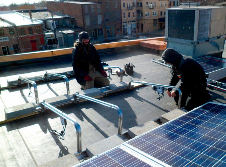 Anonymous Donor Funds Six Solar Installations