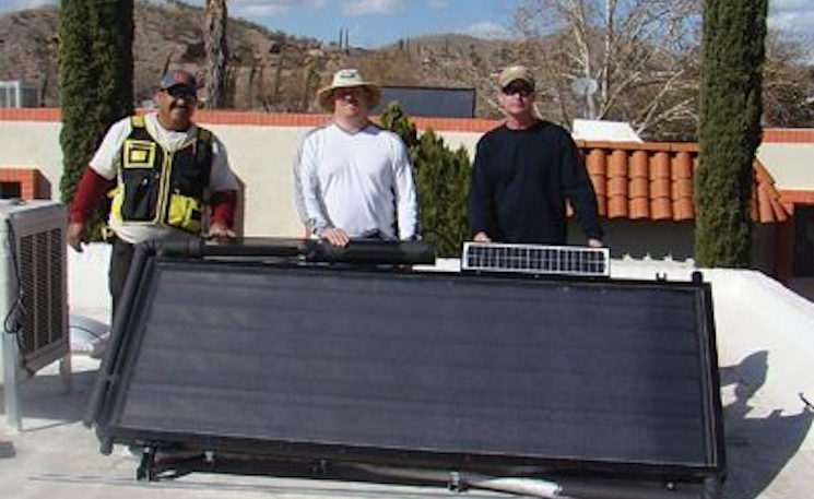Artificial Intelligence, Real Solar Water Troubleshooting