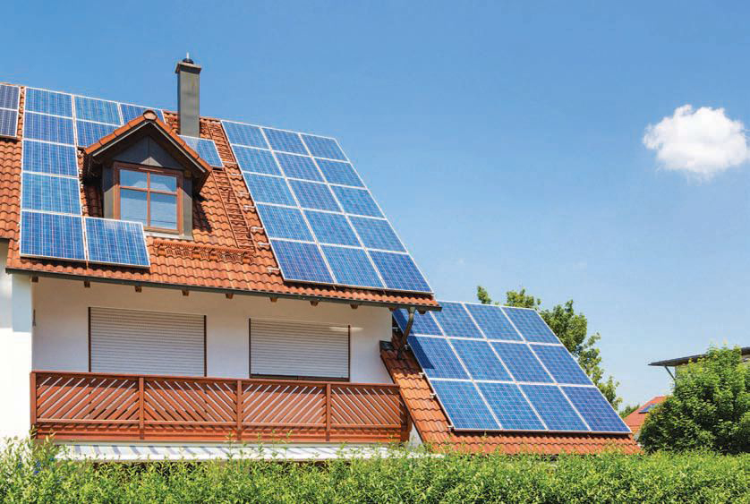 Solar Today Magazine Photo - Residential house with Solar panels - © GooDAura