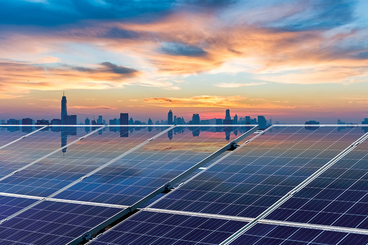 For the First Time, Solar Tops Oil